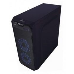 Gabinete / Gaming / Stahl / 900 Mesh / 1 Vent LED / USB / Negro