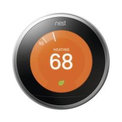 Nest / Termostato Inteligente / Plateado / Integrable a Sistemas LUTRON / Caseta Wireless / RA2 Select / RadioRa2