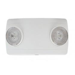 Luz LED / Emergencia / Ultra Compacta / 150 Lúmenes / Luz Fría / Batería de Respaldo Incluida / Botón de Test