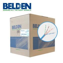 Cable UTP | Cat. 5E | Forro PVC | Azul | 4 Pares | 100 Mhz | Cal. 24 AWG | 100% Cobre | Interior |CMR