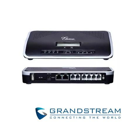 Conmutador IP | PBX | GS | 4 FXO | 2 FXS | 250 Usuarios | 45 Llamadas Simultaneas | NAT | 2 Ptos Giga 10/100/1000