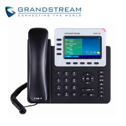Telefono IP | Audio HD | 4 Lineas | 5 Teclas Programables | 1 LAN | 1 WAN | POE | Pantalla a Color 4.3 Pulg.