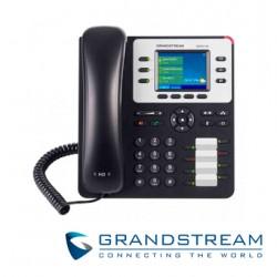 Teléfono IP |Empresarial | 3 Lineas | 4 Teclas Programables | 8 Teclas BLF | Conferencia de 4 vías | POE | Bluetooth