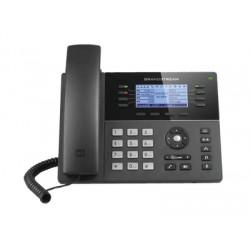 Teléfono IP | Gama Media | 8 Lineas | 4 Teclas de función | 32 Teclas de Extensión BLF Digital | POE | Gigabit