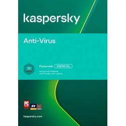 Anti-Virus | 3 Usuarios | 1 Años | ESD