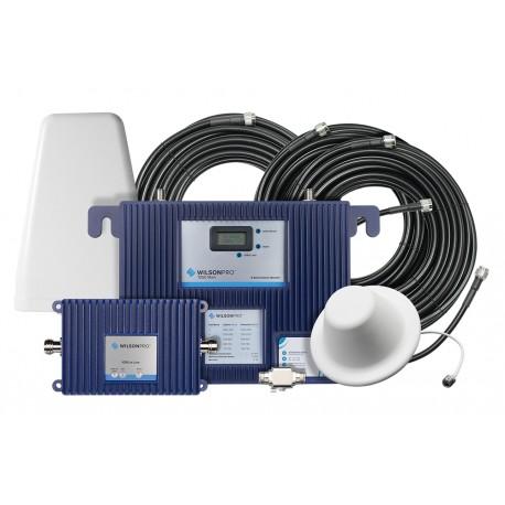 KIT de Amplificador de Señal Celular | Hasta 3,200 m2 de Cobertura | 4G LTE, 3G y Voz