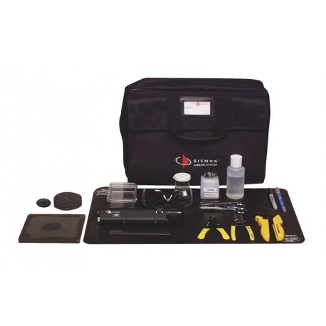Conector de Fibra Óptica   LC   Simplex   Para Instalación en Campo   Multimodo   Fibra Recubierta   Color Beige