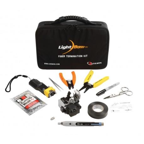 Kit de Herramienta   LightBow   Para Terminación de Conectores de Fibra Óptica   Pre-pulidos   LC/SC   Monomodo o Multimodo