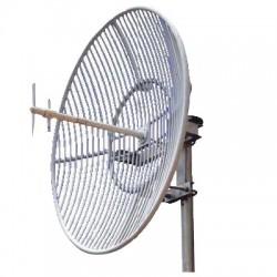 Antena Parabólica | Rejilla | Frec. 824-896 MHz | 20 dBi Ganancia | Antena Donadora