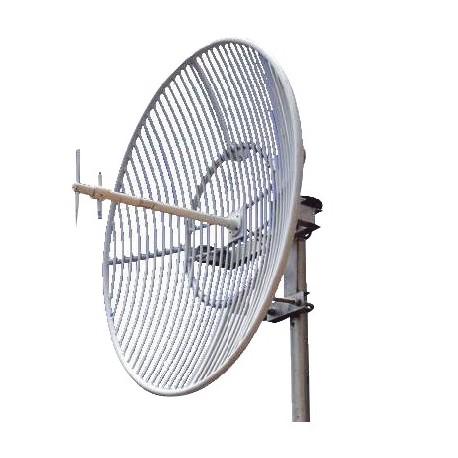 Antena Parabólica   Rejilla   Frec. 824-896 MHz   20 dBi Ganancia   Antena Donadora