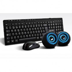 Kit | Teclado | Mouse | Bocinas | USB