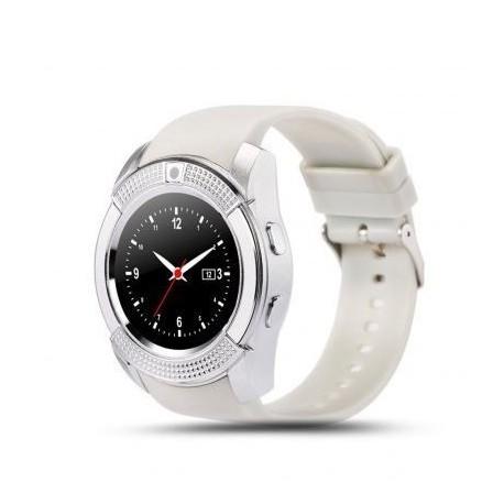 SmartWatch | Compatible con Android | Circular | 32M + 32M RAM | Blanco