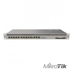 Ruteador | CPU 4 Nucleos | RouterOS | PoE: 802.3af / en | 2x Ptos SATA3 | RS232 | Licencia 6 | NAND