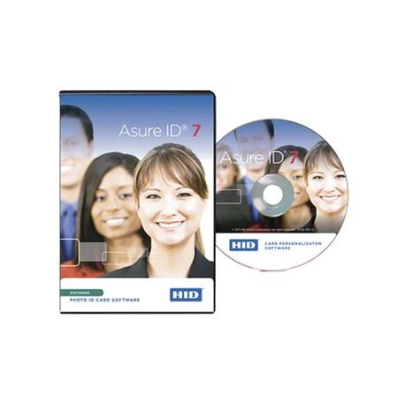 Software Asure ID versión EXCHANGE   Compatible con impresoras HID   Para uso en funciones de Personalización Avanzada