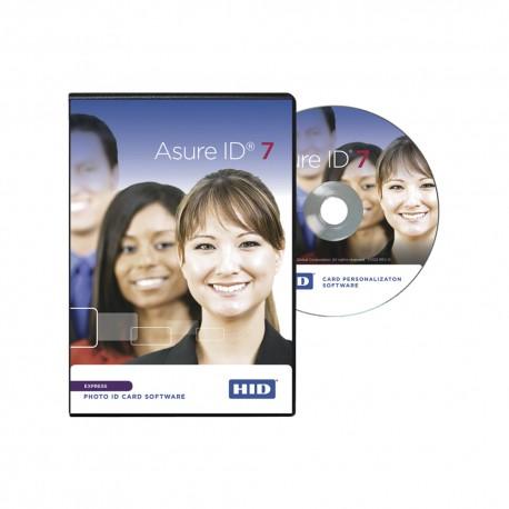 Software Asure ID versión EXPRESS | Compatible con impresoras HID | Personalización de Credenciales