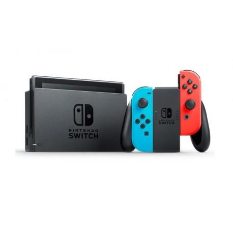 Consola Nintendo Switch Neon | Color Rojo y Azul| 32 GB | Wifi