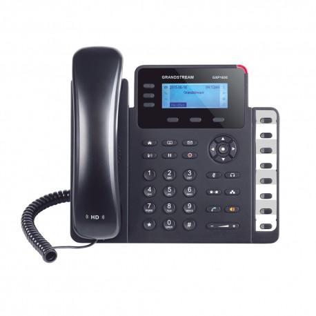 Teléfono IP | SMB de 3 Lineas | 3 Cuenta SIP | 8 Teclas Extensión BLF | Conferencia de 4 vías | POE